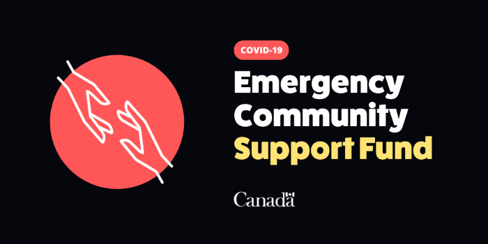 Funding now available: Federal Emergency Community Support Fund
