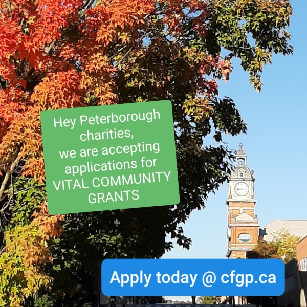 Now accepting applications: Vital Community Grants 2020