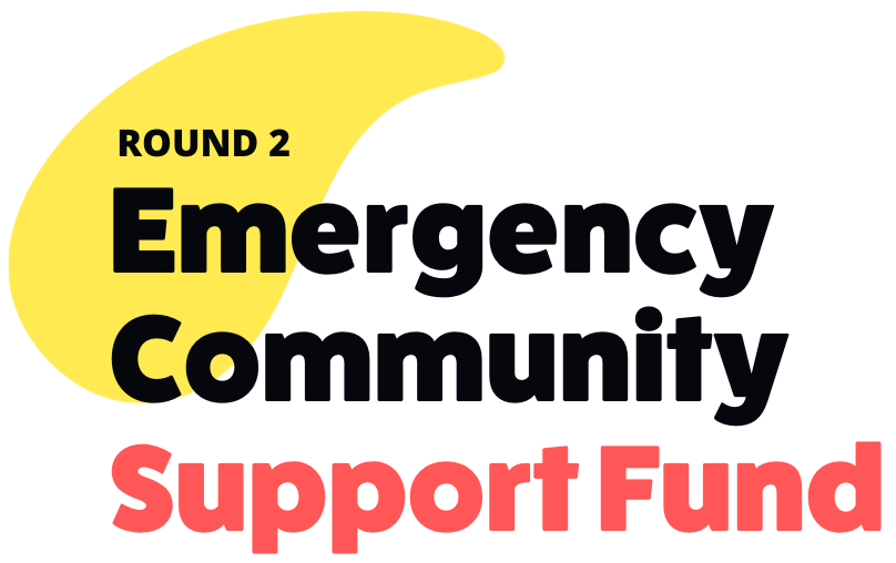 Now accepting applications: Round 2 Emergency Community Support Fund (ECSF)